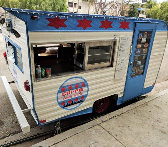 Chi-Pie deep dish pizza food trailer
