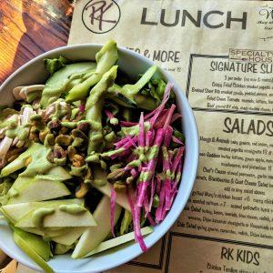 Rustic Kitchen - Green Goddess Salad - Foodzooka