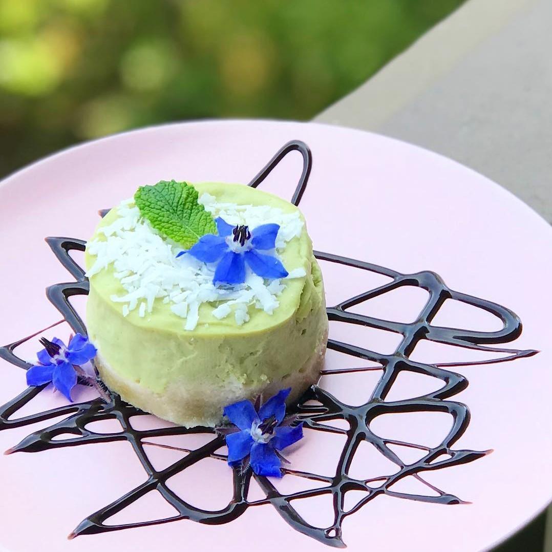 Om Rishikesh (key lime pie with avocado) - Foodzooka