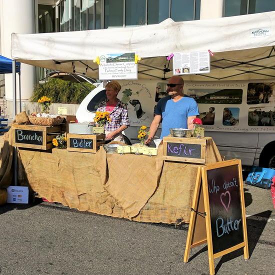 Achadinha Cheese Company - Santa Monica Farmers Market (Foodzooka)
