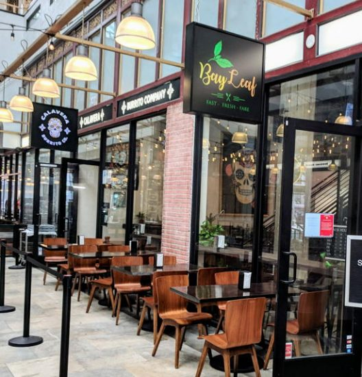 Bayleaf & Calavera Burrito Co. - Spring Arcade Building (Foodzooka)