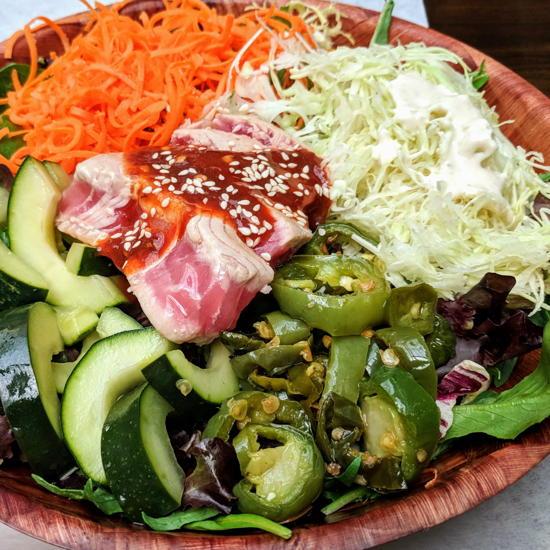 Bayleaf - Spicy Sumo Salad (Foodzooka)