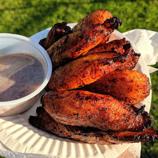 Big Grandma's Kitchen - Platanos with cinnamon drizzle (Foodzooka)