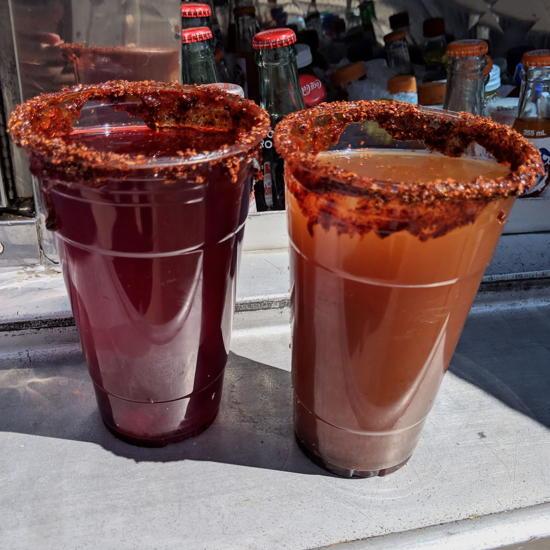 Birrieria Don Ruben - Agua frescas (Foodzooka)