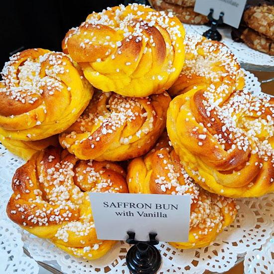 Bulle Bakery - Saffron bullar (Foodzooka)