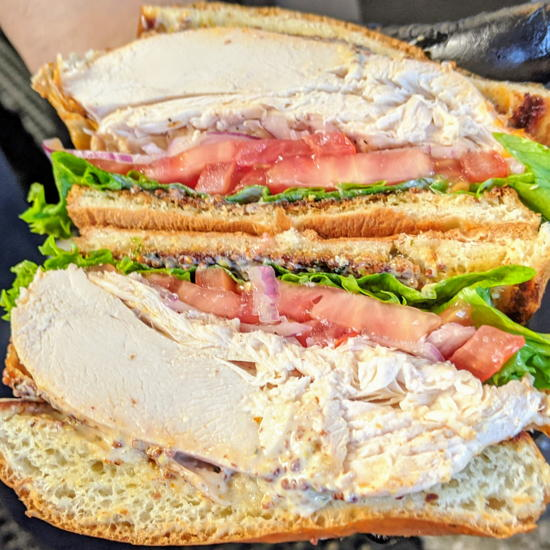Chicken N Chips - Truffle Chicken Sandwich (Foodzooka)