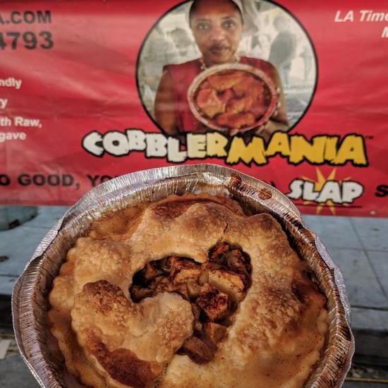 Cobblermania - Farmers market banner (Foodzoka)