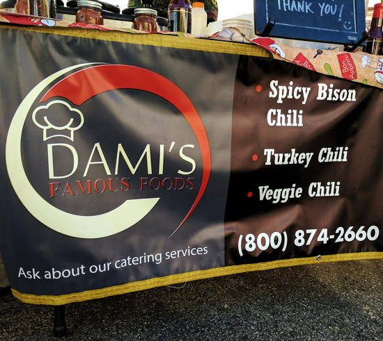 Dami's Famous Foods - Catering banner (Foodzooka)
