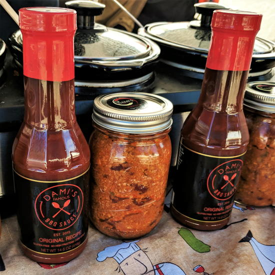 Dami's Famous Foods - Dami's BBQ Sauce and chili (Foodzooka)