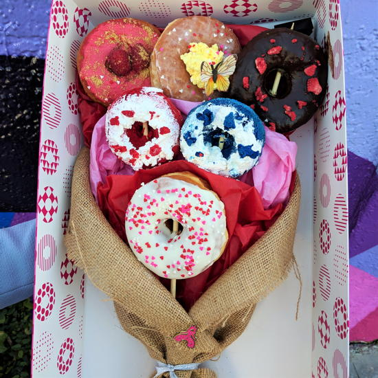 Donut Princess - Valentine's Day Bouquet (Foodzooka)