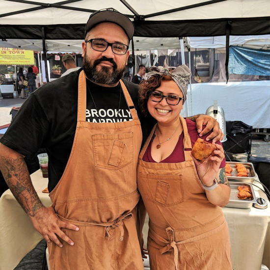 East Side Eats LA - Chefs Jose Vazquez and Shruti Patel (Foodzooka)