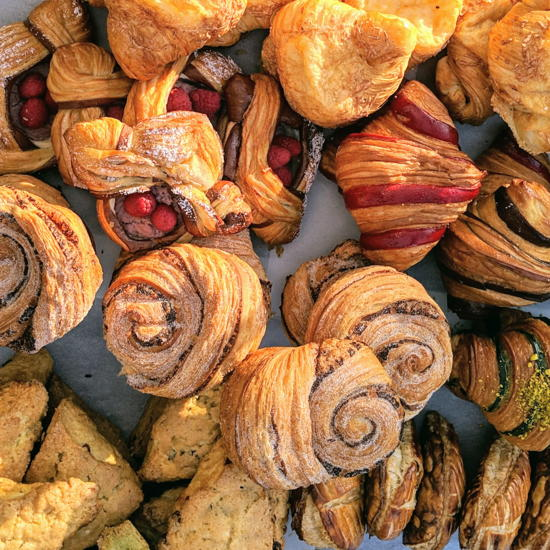 Frogs Bakery - Assorted flaky pastries (Foodzooka)