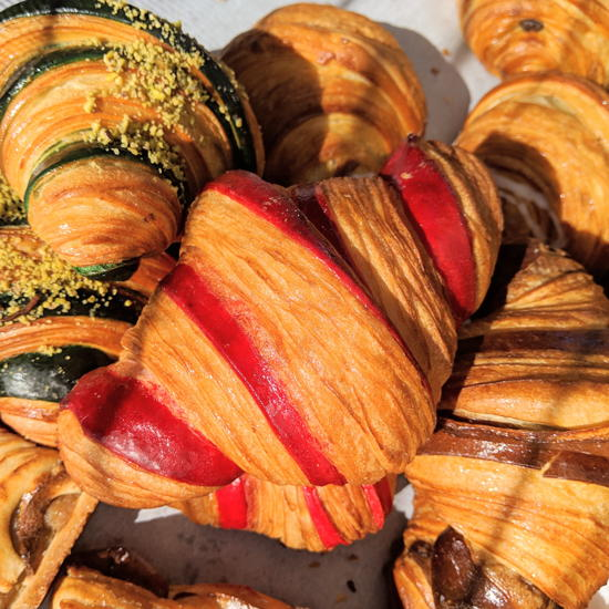 Frogs Bakery - Croissants (Foodzooka)