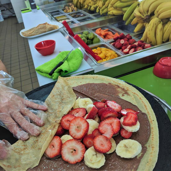 Fruzion - Crepes made to order (Foodzooka)