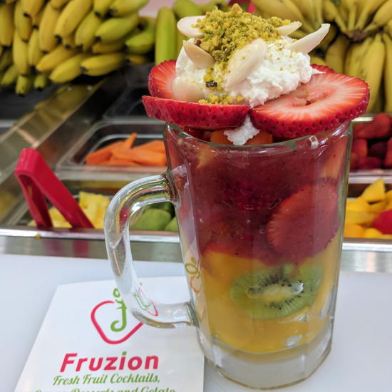 Fruzion - Turbo fruit cocktail (Foodzooka)