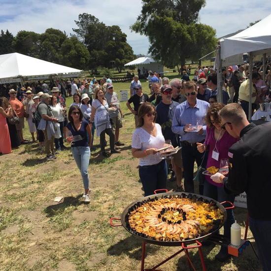 Got Paella-L.A. Paella Catering (courtesy) - Santa Barbara Vintners Festival