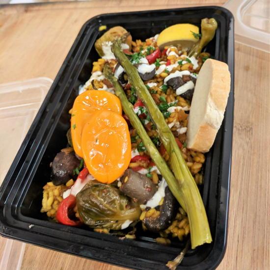 Got Paella - Vegan Paella (Foodzooka)