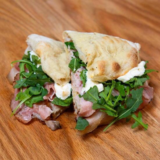 Gourmet Romano (courtesy) - Porchetta panini