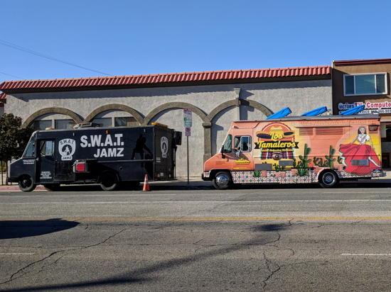 Los Tamaleros - SWAT Jamz and Los Tamaleros Trucks (Foodzooka)