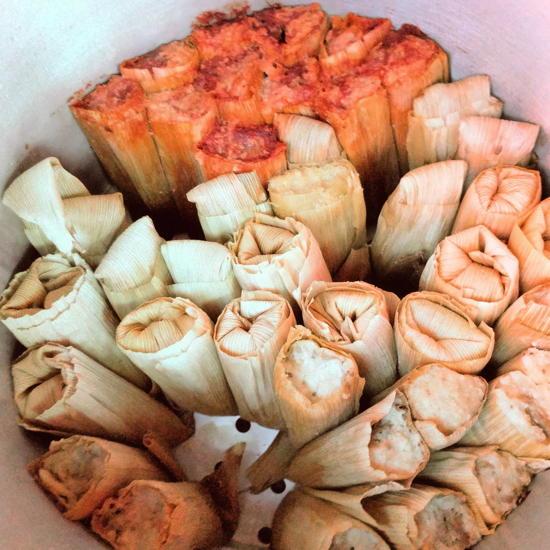 Los Tamaleros - Tamale varieties (Foodzooka)