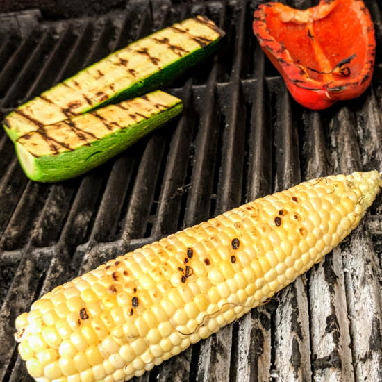 Milpa Grille - Grilled corn and vegetables (Foodzooka)