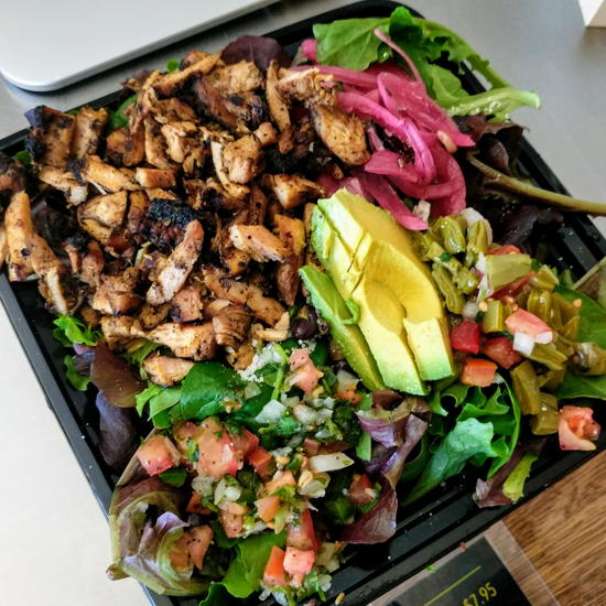 Milpa Grille - Milpa Salad (Foodzooka)