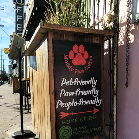 Muddy Paw Coffee - Silver Lake (Foodzooka)