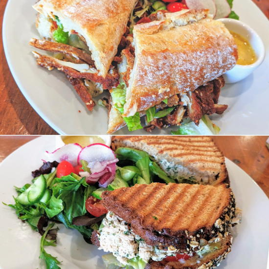 Pascal Patisserie & Cafe - Chicken schnitzel and tuna sandwiches (Foodzooka)