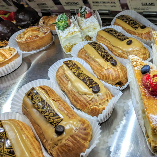 Pascal Patisserie & Cafe - Coffee eclairs (Foodzooka)