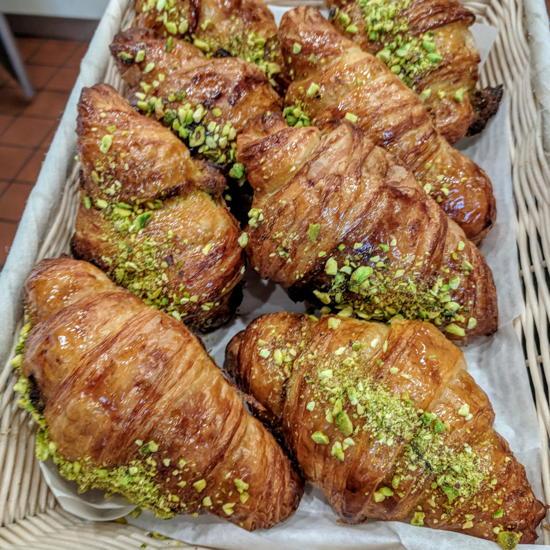 Pascal Patisserie & Cafe - Pistachio croissants (Foodzooka)