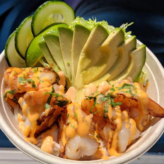 Pinch Of Flavor - Shrimp Bowl (Foodzooka)