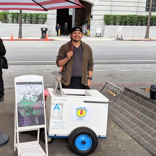 Pocho Pops - Owner Ismael Venegas (Foodzooka)