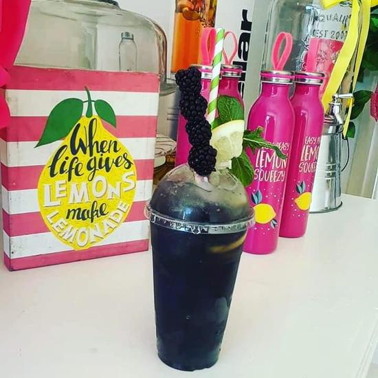 Pucker Up Lemonade Co. (courtesy) - All Black Everything Lemonade