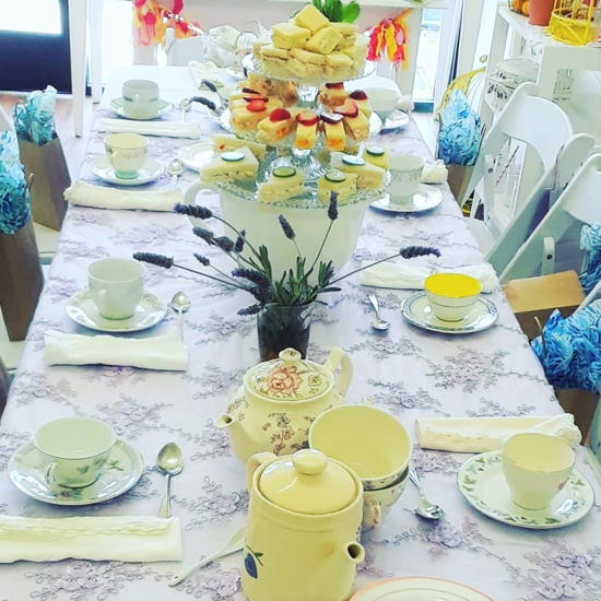 Pucker Up Lemonade Co. (courtesy) - Private tea party hosted onsite