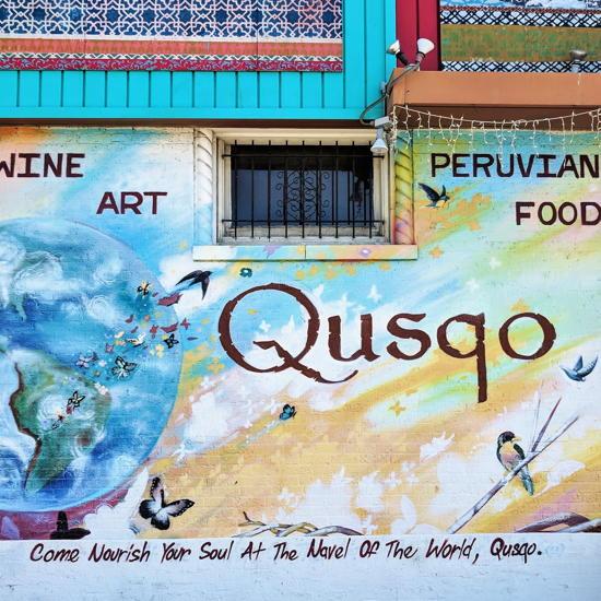 Qusqo Bistro - Wall mural (Foodzooka)