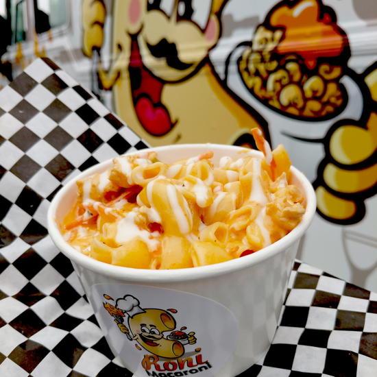 Roni Macaroni - Buffalo Ranch Chicken Mac & Cheese (Foodzooka)
