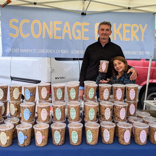 Sconeage Bakery - Pasadena Farmers Market (Foodzooka)