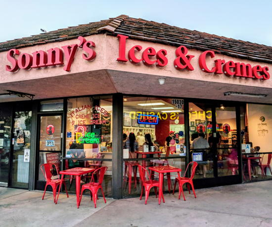 Sonny's Amazing Italian Ices & Cremes - Sherman Oaks (Foodzooka)