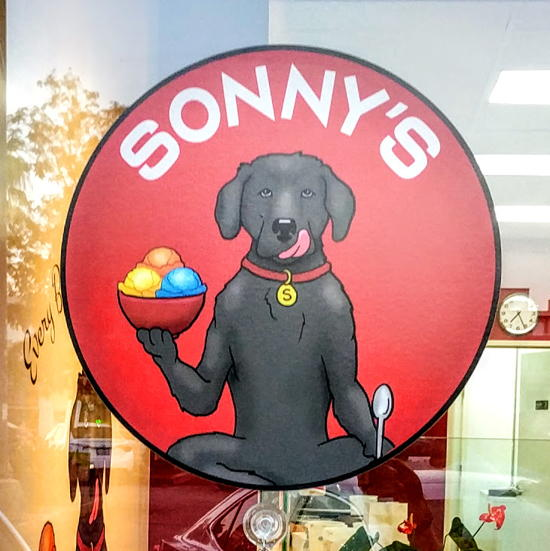 Sonny's Amazing Italian Ices - Original Sonny's logo (Foodzooka)