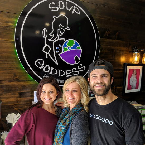 Soup Goddess - Gianna DiDonato, Lizzie Meyer, Dillon Meyer (Foodzooka)