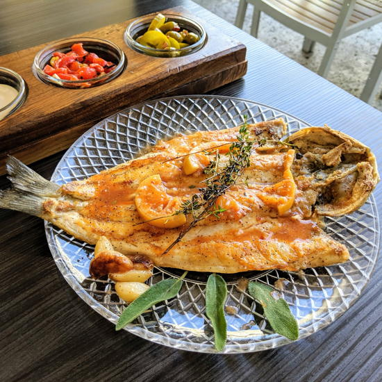 Tel Aviv Fish Grill - Branzino (Foodzooka)