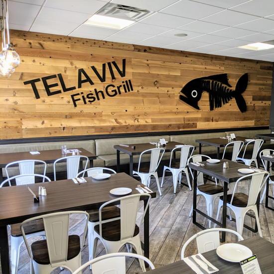 Tel Aviv Fish Grill - Dining area (Foodzooka)