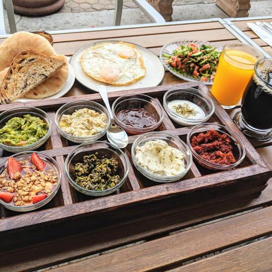 Tel Aviv Fish Grill - TLV Breakfast (Foodzooka)