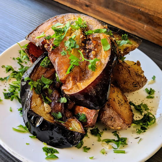 Tel Aviv Fish Grill - Taboon vegetables (Foodzooka)