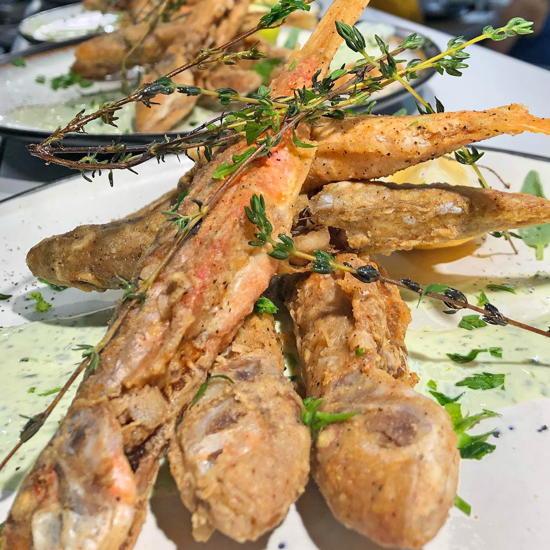 Tel Aviv Fish Grill (courtesy) - Fried barbounia
