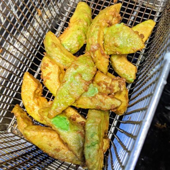 The Fat Queso - Avocado Fries (Foodzooka)