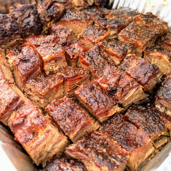 The Mission Barbeque - Beef burnt ends (Foodzooka)
