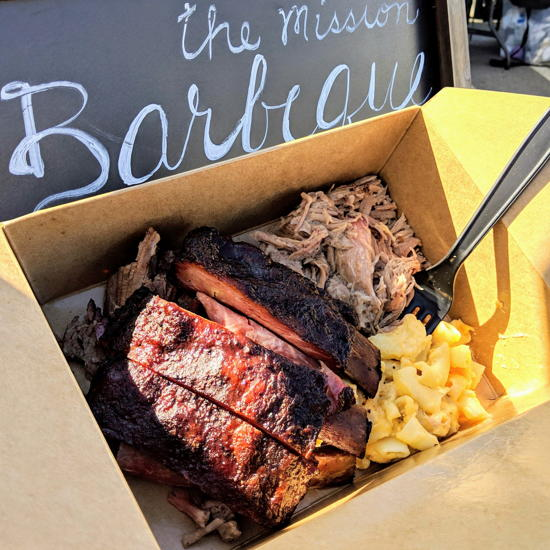 The Mission Barbeque - Combo plate (Foodzooka)