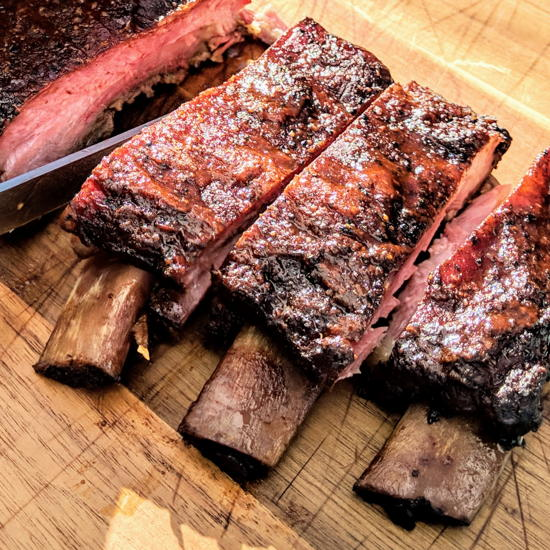 The Mission Barbeque - St. Louis style ribs (Foodzooka)