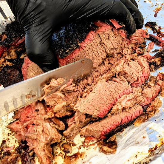 The Mission Barbeque - Texas style brisket (Foodzooka)